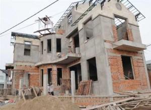 mức xử phạt khi xây nhà trái phép